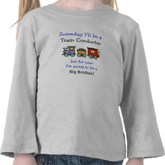 Train Conductor Big Brother Shirt