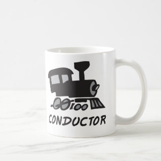 Train Conductor Coffee Mug