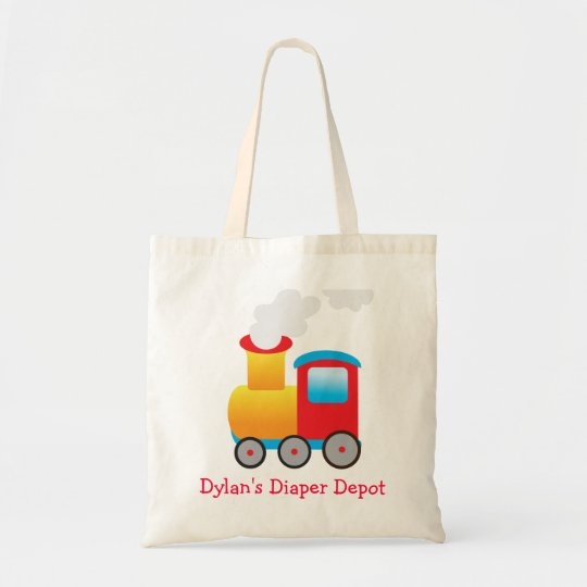 Train Diaper Bag