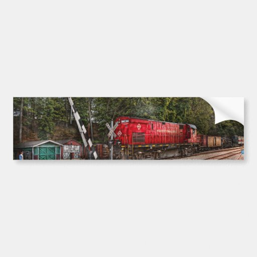 Train - Diesel - Look out for the Locomotive Bumper Stickers