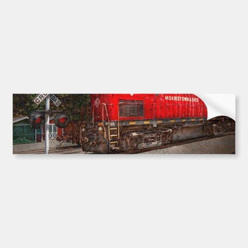 Train - Diesel - Morristown Erie Bumper Sticker