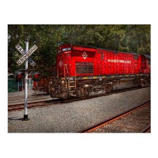 Train - Diesel - Morristown Erie Postcard