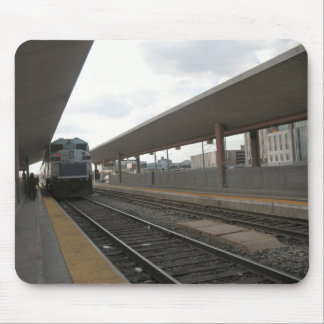 Train Downtown Los Angeles Mousepad