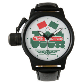 Train Driver Wristwatches