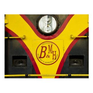 Train Engine BMH Post Card