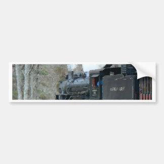 Train Engine Car Bumper Sticker