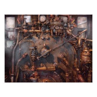Train - Engine - Hot under the collar 21.5 Cm X 28 Cm Flyer