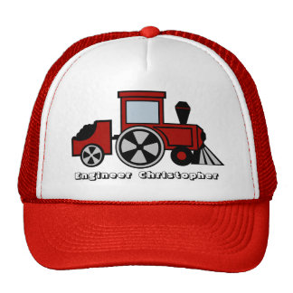 Train Engineer Cap