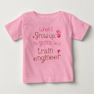 Train Engineer (Future) Infant Baby T-Shirt