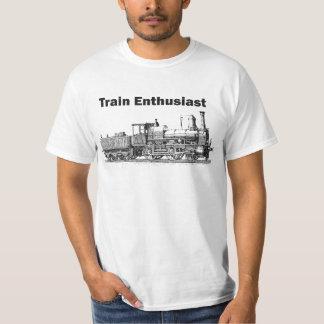 Train Enthusiast T Shirt