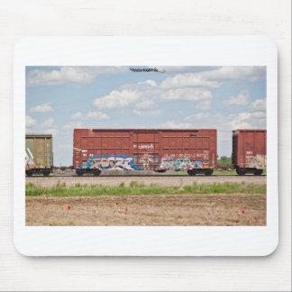 Train Graffiti Mouse Pad