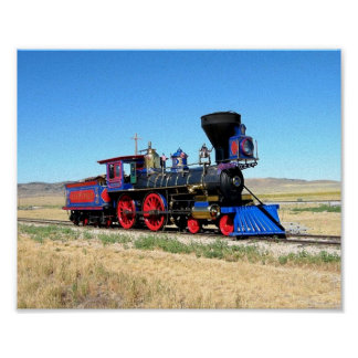 Train Image Cool Locomotive image Poster