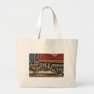 Train -  Joined in a union Canvas Bag