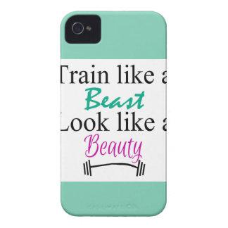 Train like a beast Case-Mate iPhone 4 case