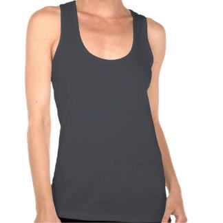 Train like a beast gym racerback vest shirt