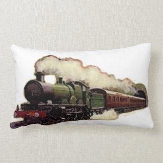 Train Locomotive Lumbar Cushion