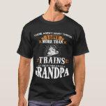 Train Loving Grandpa T-Shirt
