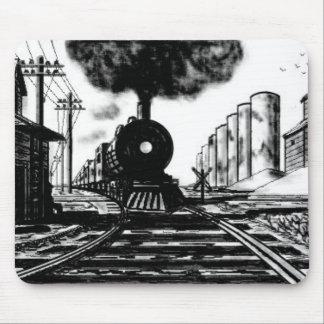 train mouse mat