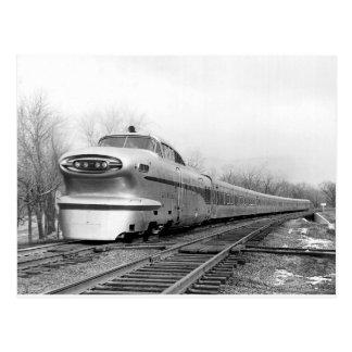 Train of the Future! Postcard