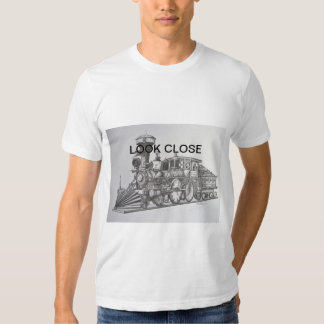 Train of Unusual style. Look Close T Shirt
