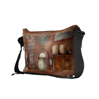 Train - Office - The ticket takers window Messenger Bag