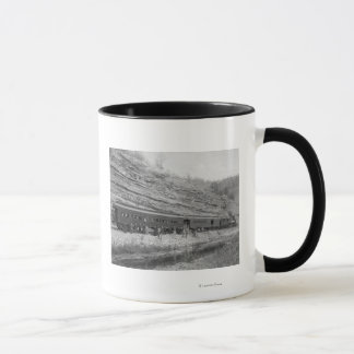 Train on the Burlington and Missouri Mug