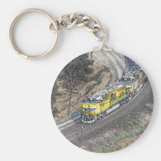 Train on the Tehachapi Loop Key Ring