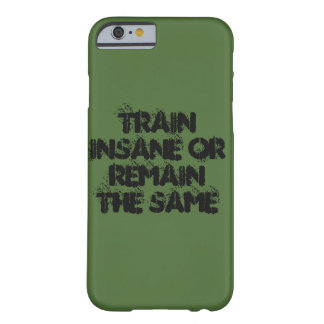 Train or Remain Barely There iPhone 6 Case