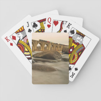 Train over James River Playing Cards