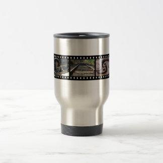 Train Parts Film Strip Thermal Mug