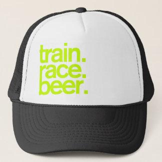 TRAIN.RACE.BEER. Trucker Hat