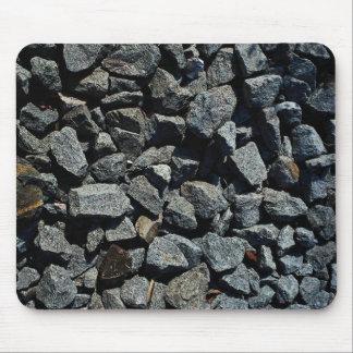 Train rail gravel mousepad
