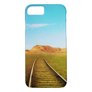 Train railway nature scenery iPhone 7 case