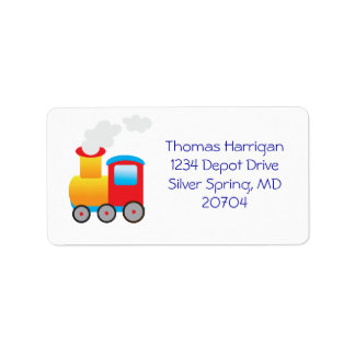 Train Return Address Labels