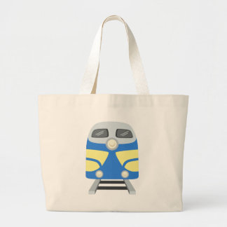 Train Ride Large Tote Bag
