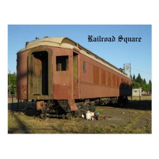 Train - Santa Rosa, Ca Postcard