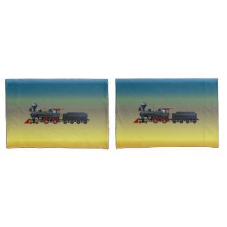 Train Set Pillow Case Set