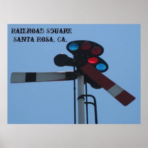 """ Train Signal Poster ! """