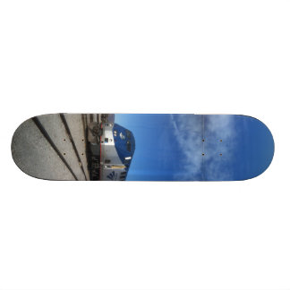 train sky high desery custom skate board