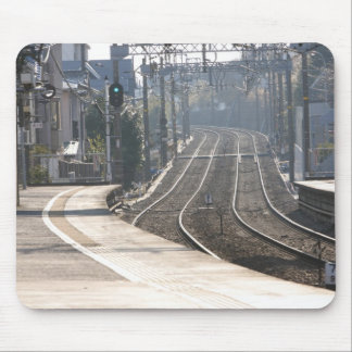Train station on the Miura Peninsula in Japan Mouse Pad