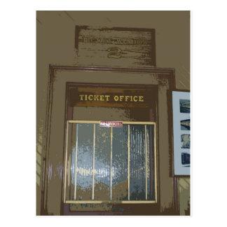 Train Station Ticket Window Post Cards