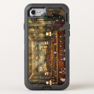 Train Station - Waiting in Grand Central 1904 OtterBox Defender iPhone 7 Case