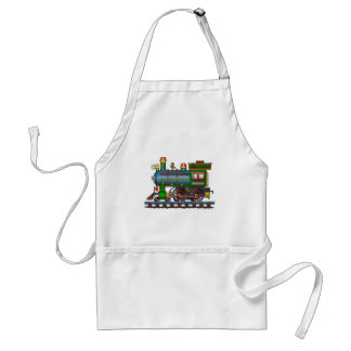 Train Steam Engine Choo Choo Aprons