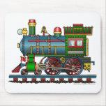 Train Steam Engine Choo Choo Mouse Pad