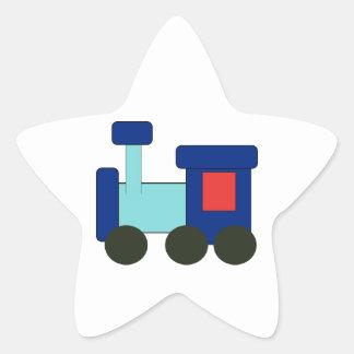 Train Steam Railroad Steampunk Engine Destiny Star Sticker