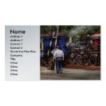 Train - Steam - The conductors job Business Card Template