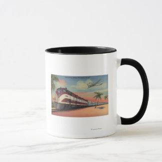 Train- Streamlining through Florida Mug