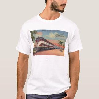 Train- Streamlining through Florida T-Shirt