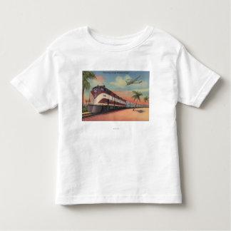 Train- Streamlining through Florida T-shirts