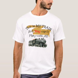 Train T-Shirt, Men's T-Shirt